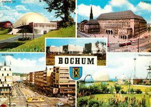 AK / Ansichtskarte Bochum Planetarium Sternwarte Rathaus Stadtmitte Kat. Bochum