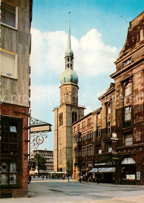 AK / Ansichtskarte Dortmund Reinoldikirche Kat. Dortmund