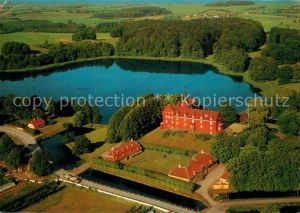 AK / Ansichtskarte Langeland Daenemark Fliegeraufnahme Tranekaer Schloss Kat. Daenemark