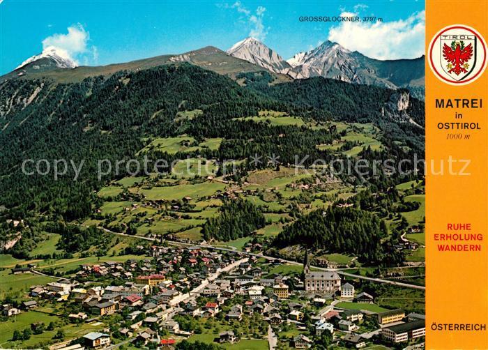 AK / Ansichtskarte Matrei Osttirol Fliegeraufnahme Kat. Matrei in Osttirol