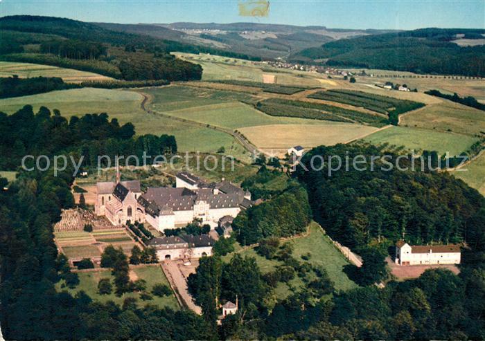 AK / Ansichtskarte Hachenburg Westerwald Zisterzienser Abtei Marienstatt Fliegeraufnahme Kat. Hachenburg