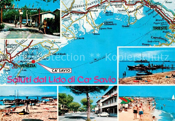 AK / Ansichtskarte Ca Savio Lido di Ca Savio Teilansichten Kat. Cavallino Treporti