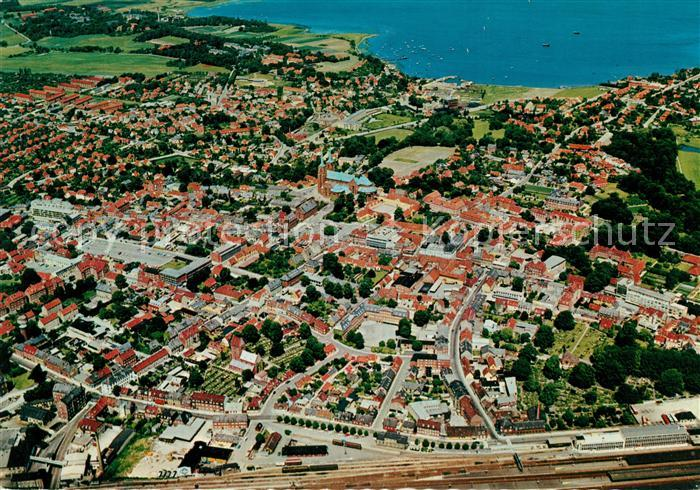 AK / Ansichtskarte Roskilde Fliegeraufnahme Kat. Roskilde