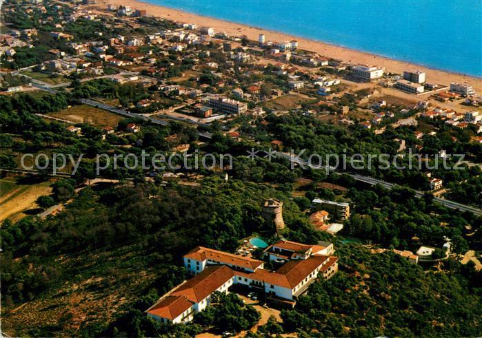 AK / Ansichtskarte Castelldefels Fliegeraufnahme Kat. Costa Brava