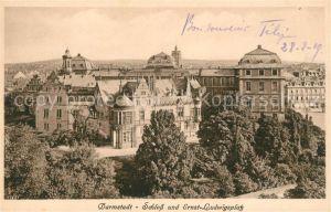 AK / Ansichtskarte Darmstadt Schloss Ernst Ludwigsplatz Kat. Darmstadt