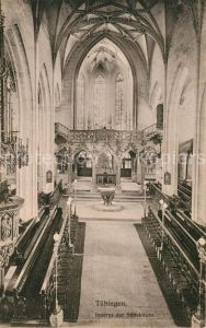 AK / Ansichtskarte Tuebingen Chor der Stiftskirche Kat. Tuebingen