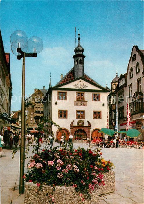 AK / Ansichtskarte Bad Kissingen Marktplatz mit Rathaus Kat. Bad Kissingen