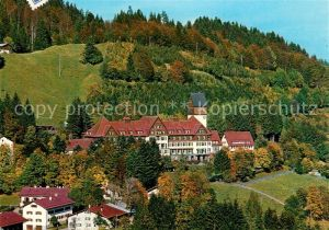 AK / Ansichtskarte Oberstdorf Sanatorium der LVA Schwaben Kat. Oberstdorf