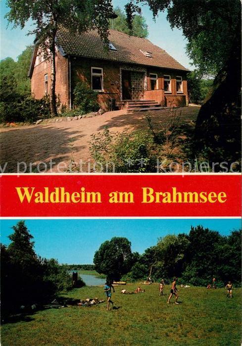 AK / Ansichtskarte Langwedel Waldheim am Brahmsee Kat. Langwedel