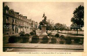 AK / Ansichtskarte Saint Nazaire Loire Atlantique Boulevard Albert Kat. Saint Nazaire