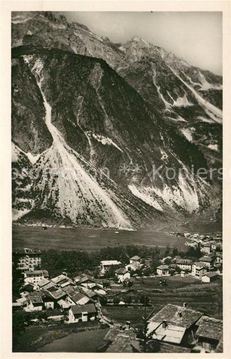 AK / Ansichtskarte Pralognan la Vanoise Vue prise des Fontanettes Kat. Pralognan la Vanoise
