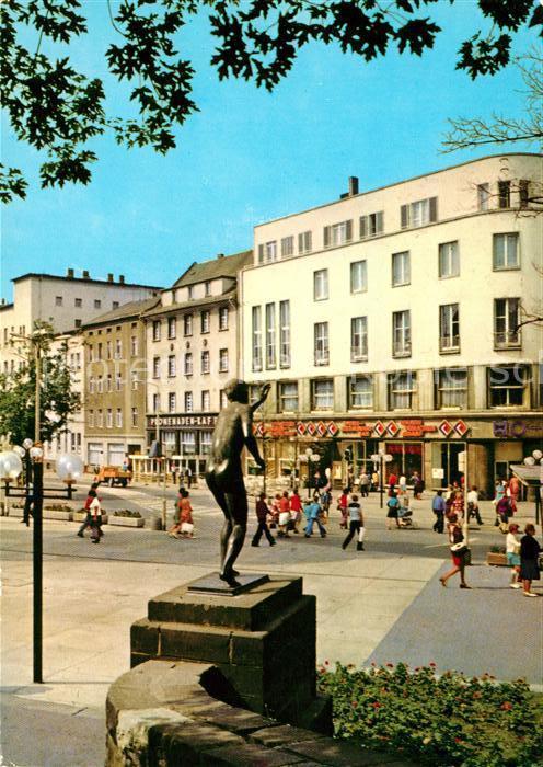 AK / Ansichtskarte Halle Saale Hansering Haus der Presse Kat. Halle