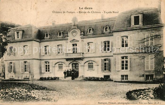 AK / Ansichtskarte Ponsan Soubiran Chateau Entree Facade Nord Kat. Ponsan Soubiran
