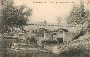 AK / Ansichtskarte Fleurance Pont de la Gobitz et Chutes du Gers Kat. Fleurance