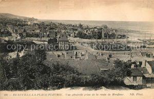 AK / Ansichtskarte Deauville Vue generale prise de la route de Honfleur Kat. Deauville
