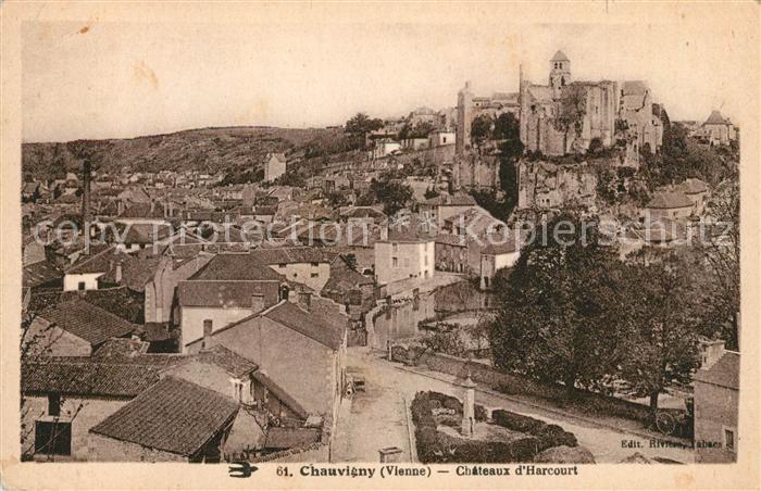 AK / Ansichtskarte Chauvigny Chateaux d Harcourt Kat. Chauvigny