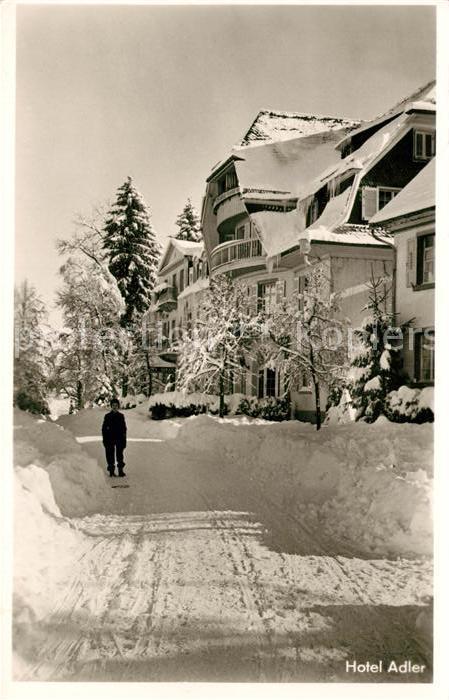 AK / Ansichtskarte Hinterzarten Winterlandschaft Kat. Hinterzarten