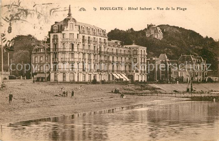 AK / Ansichtskarte Houlgate Hotel Imbert Strand Kat. Houlgate