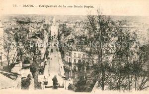 AK / Ansichtskarte Blois Loir et Cher Perspective de la rue Denis Papin Kat. Blois