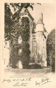 AK / Ansichtskarte Saint Julien l Ars Chateau Kat. Saint Julien l Ars