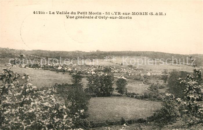 AK / Ansichtskarte Saint Cyr sur Morin Vue generale Vallee du Petit Morin Kat. Saint Cyr sur Morin