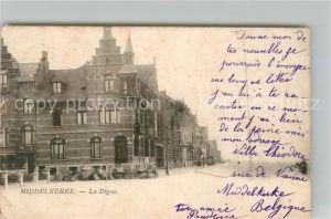 AK / Ansichtskarte Middelkerke La Digue Kat.