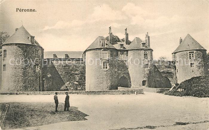 AK / Ansichtskarte Peronne Saone et Loire Chateau Kat. Peronne