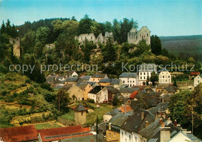 AK / Ansichtskarte Larochette Luxembourg Le Chateau Kat. Luxemburg