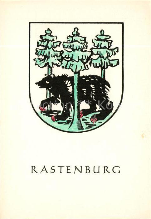 AK / Ansichtskarte Rastenburg Ostpreussen Wappen Kat. Ketrzyn