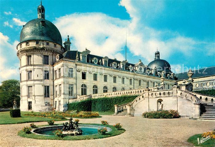 AK / Ansichtskarte Valencay Le Chateau La tour et la facade sud vues des jardins Kat. Valencay