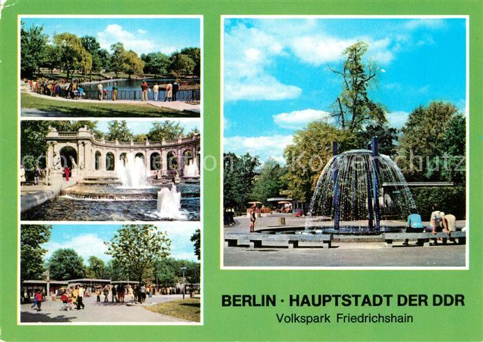 AK / Ansichtskarte Berlin Volkspark Friedrichshain Kat. Berlin