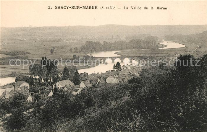 AK / Ansichtskarte Saacy sur Marne La Vallee de la Marne Kat. Saacy sur Marne
