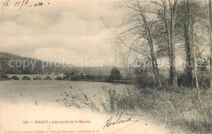 AK / Ansichtskarte Saacy sur Marne Les bords de la Marne Kat. Saacy sur Marne