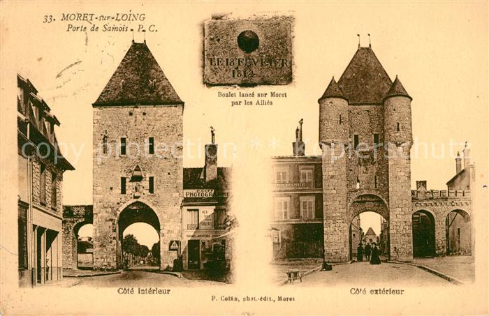 AK / Ansichtskarte Moret sur Loing Porte de Saimois Kat. Moret sur Loing