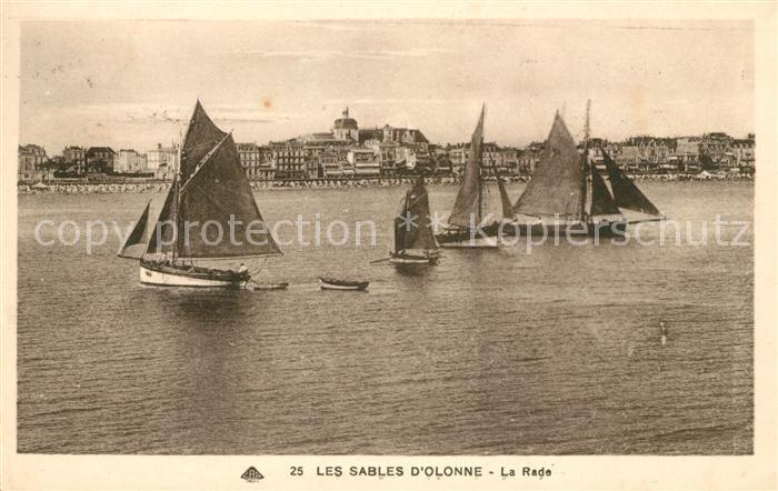 AK / Ansichtskarte Les Sables d Olonne La Rade Bateaux Kat. Les Sables d Olonne