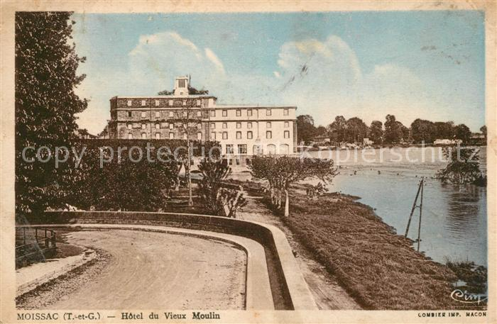 AK / Ansichtskarte Moissac Hotel du Vieux Moulin Kat. Moissac