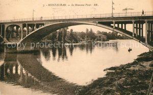 AK / Ansichtskarte Montauban Nouveau Pont Kat. Montauban