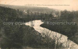 AK / Ansichtskarte Pont d Ouilly Les Bords de l`Orne Kat. Pont d Ouilly