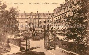 AK / Ansichtskarte Biarritz Pyrenees Atlantiques Hotel d`Angleterre Kat. Biarritz