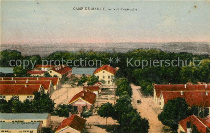 AK / Ansichtskarte Camp de Mailly  Kat. Mailly le Camp