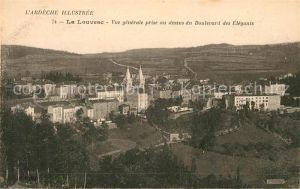 AK / Ansichtskarte La Louvesc Vue prise au dessus du Boulevard des elegants Kat. Lalouvesc