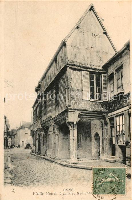 AK / Ansichtskarte Sens Yonne Vieille Maison