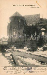 AK / Ansichtskarte Hebuterne Eglise grande Guerre 1914 15 Kat. Hebuterne