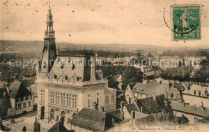 AK / Ansichtskarte Sens Yonne Quartier de Madagascar et Hotel de Ville