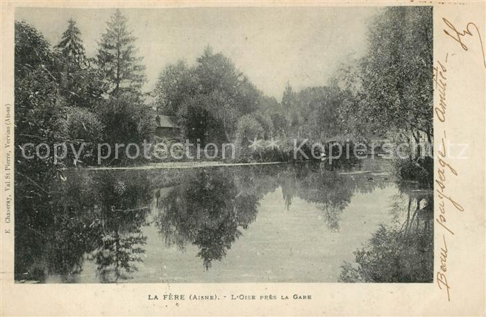 AK / Ansichtskarte La Fere Aisne Orse pres la Gare Kat. La Fere