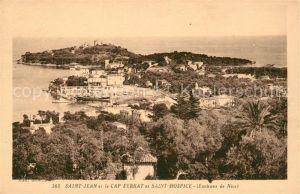 AK / Ansichtskarte Saint Jean Cap Ferrat et Saint Hospice Kat. Saint Jean Cap Ferrat
