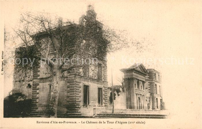 AK / Ansichtskarte La Tour d Aigues Le Chateau de la La Tour d Aigues Kat. La Tour d Aigues