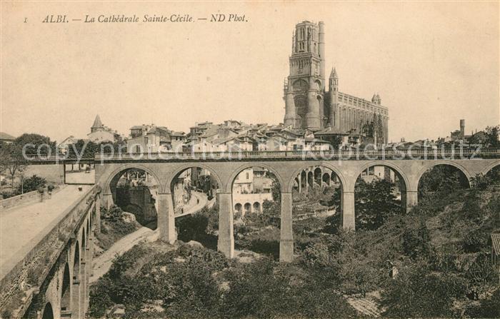 AK / Ansichtskarte Albi Tarn Cathedrale Sainte Cecile Kat. Albi