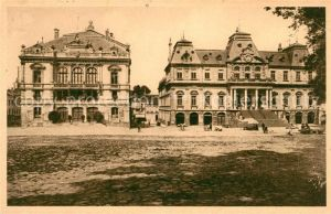 AK / Ansichtskarte Autun Theatre et Hotel de Ville Kat. Autun