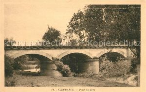 AK / Ansichtskarte Fleurance Pont du Gers Kat. Fleurance
